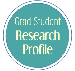 Grad student research profile